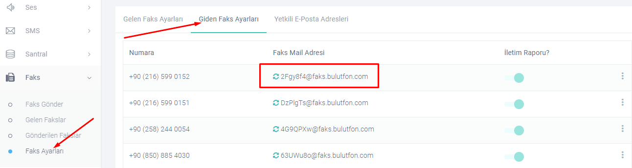 Email ile faks gönderme özelliği 2