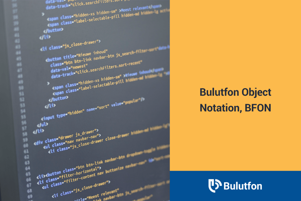 bulutfon object notation bfon