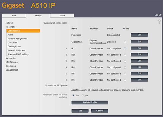 Gigaset A510 IP Telefon Kurulumu ve Ayarlarının Yapılması 5