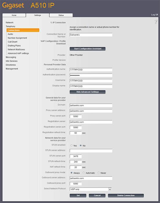 Gigaset A510 IP Telefon Kurulumu ve Ayarlarının Yapılması 6