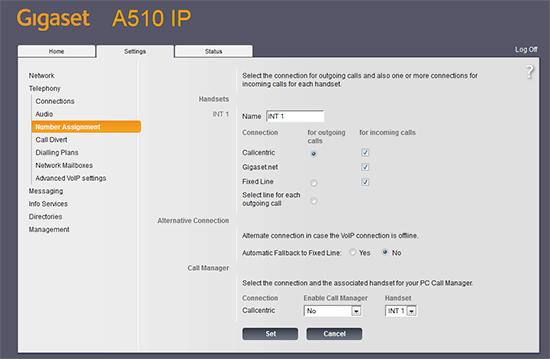 Gigaset A510 IP Telefon Kurulumu ve Ayarlarının Yapılması 8
