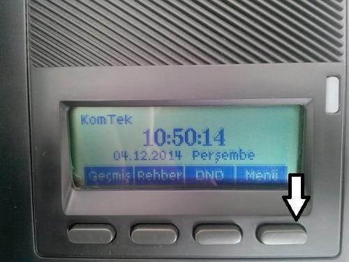 TTec E52 IP Telefon Kurulumu Ve Ayarları 1
