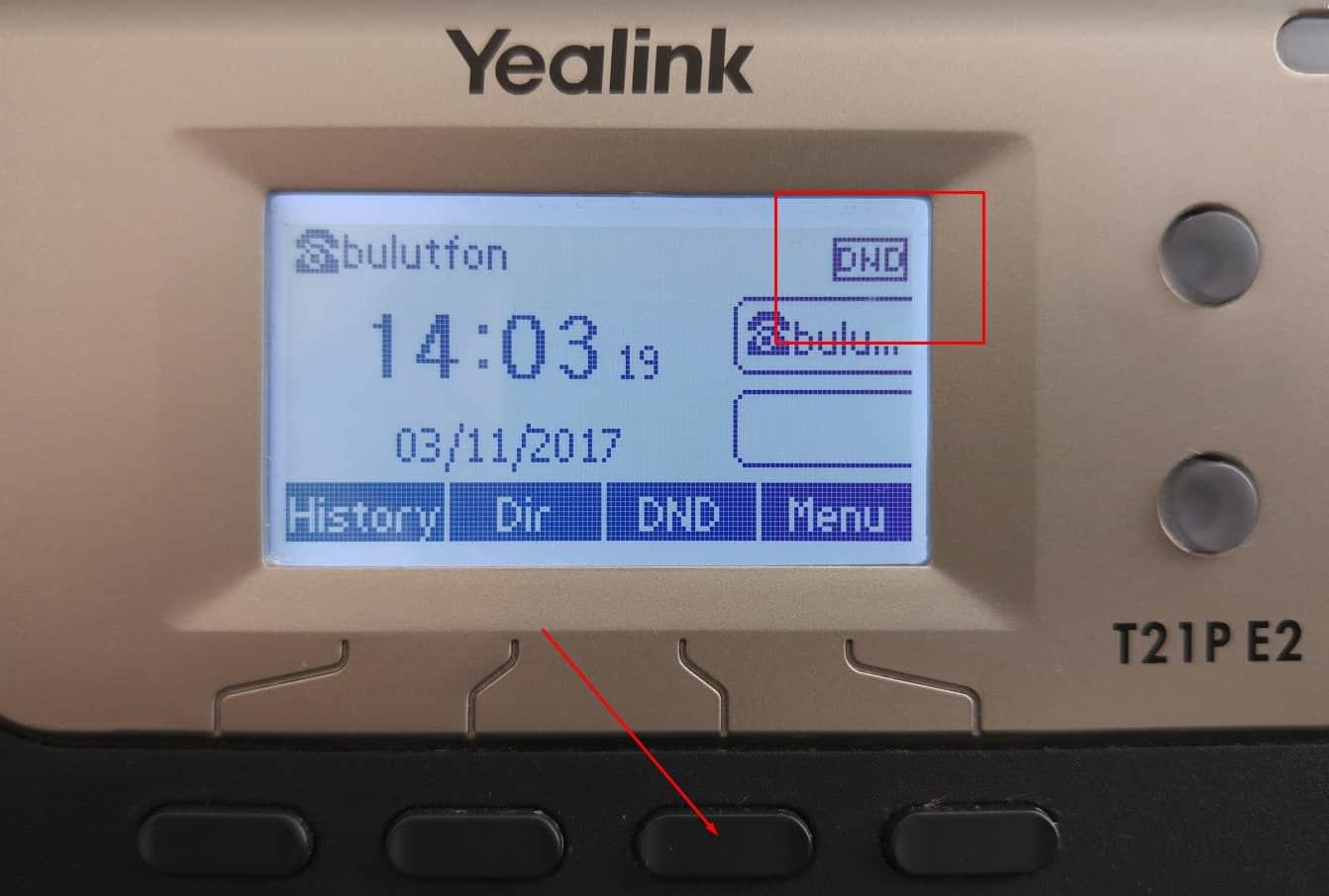 Yealink T21 E2 IP Telefon Kurulumu 6