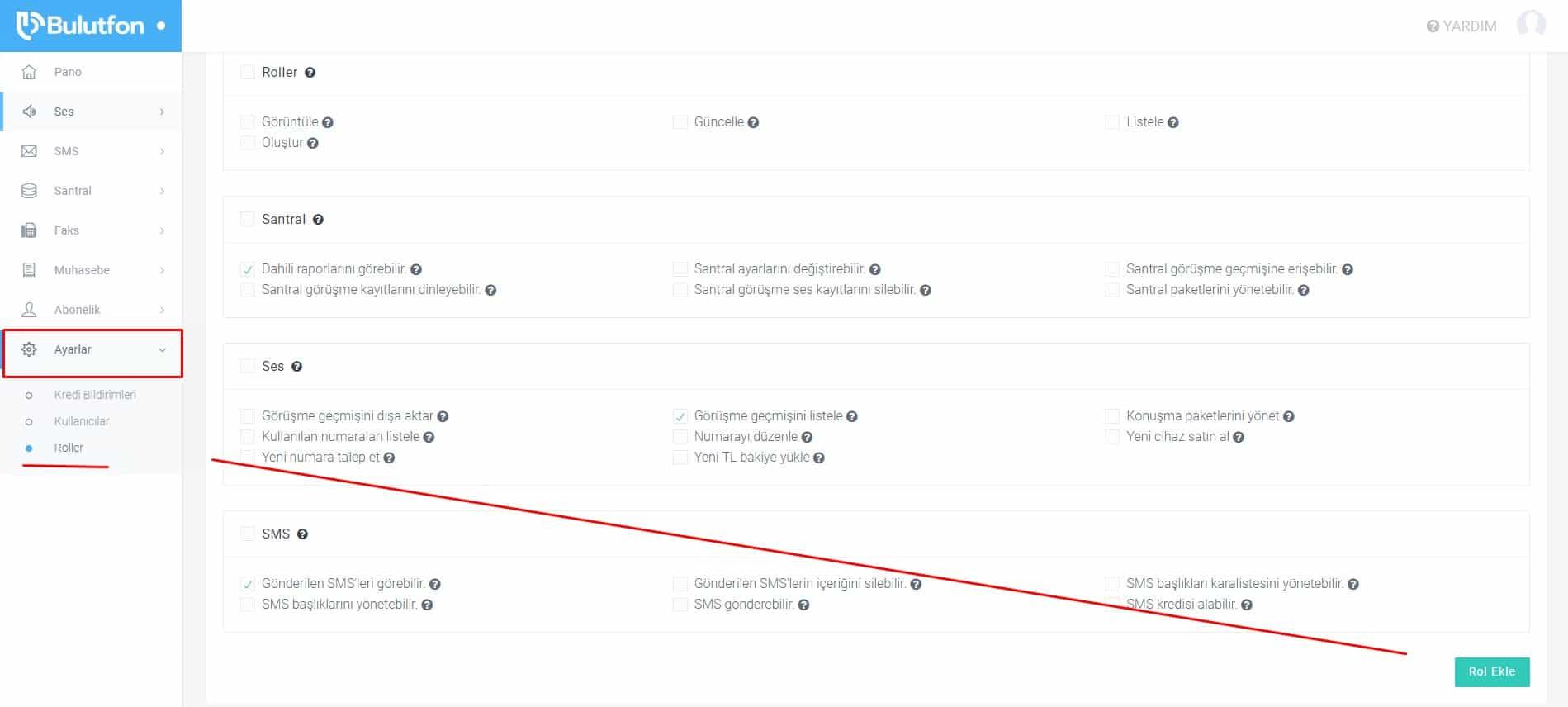 Kullanıcıların yetkilerini nasıl yönetebilirim? 2