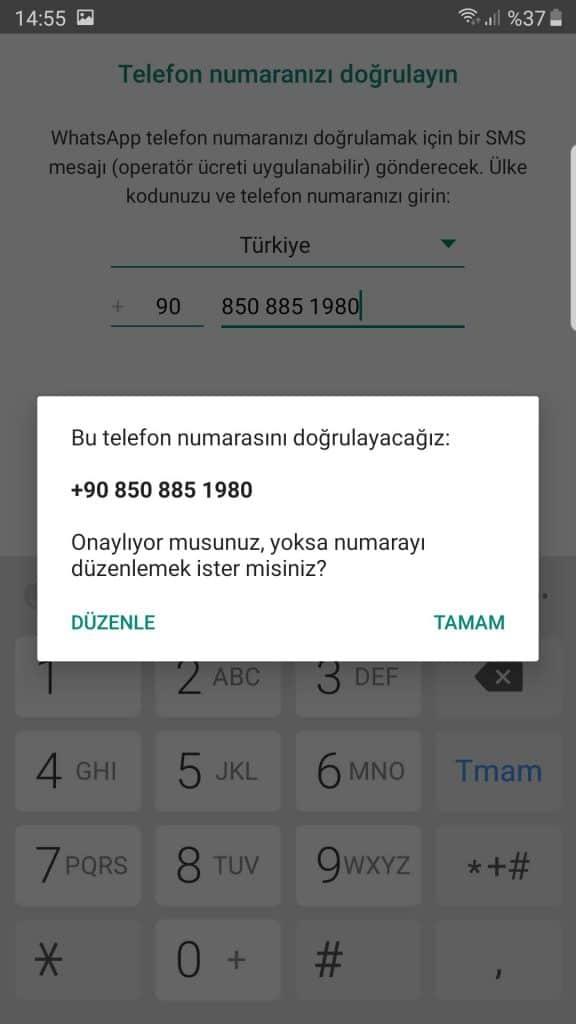 Kurumsal Whatsapp hesabımı nasıl oluşturabilirim? 11