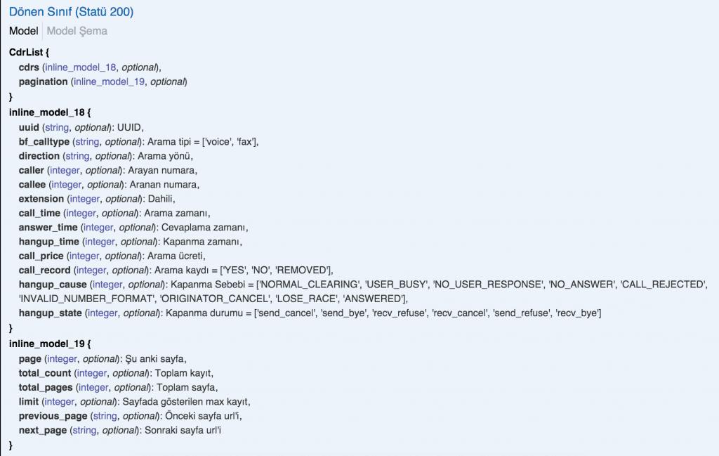 PHP-Curl-Bulutfon API Kullanarak Arama Kayıtlarının Çekilmesi 4