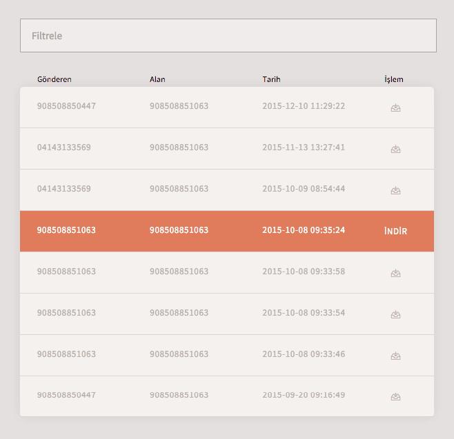 Php-Curl-Bulutfon API Kullanarak Gelen Faksları Listeleme 3