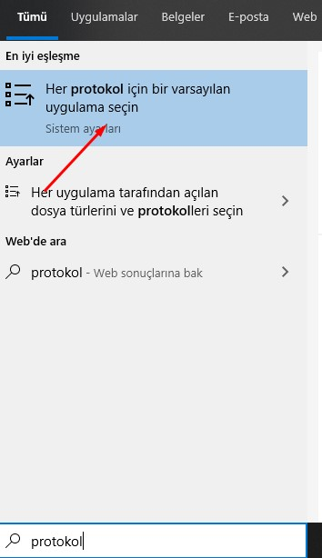 Windows softphone varsayılan 1