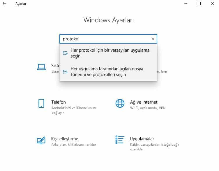 bilgi bankası softphone Windows 2