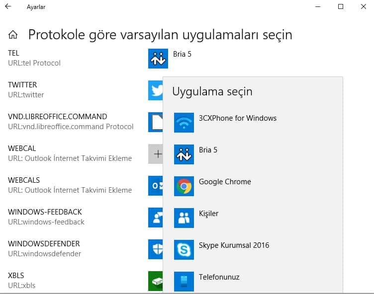 bilgi bankası softphone Windows 1