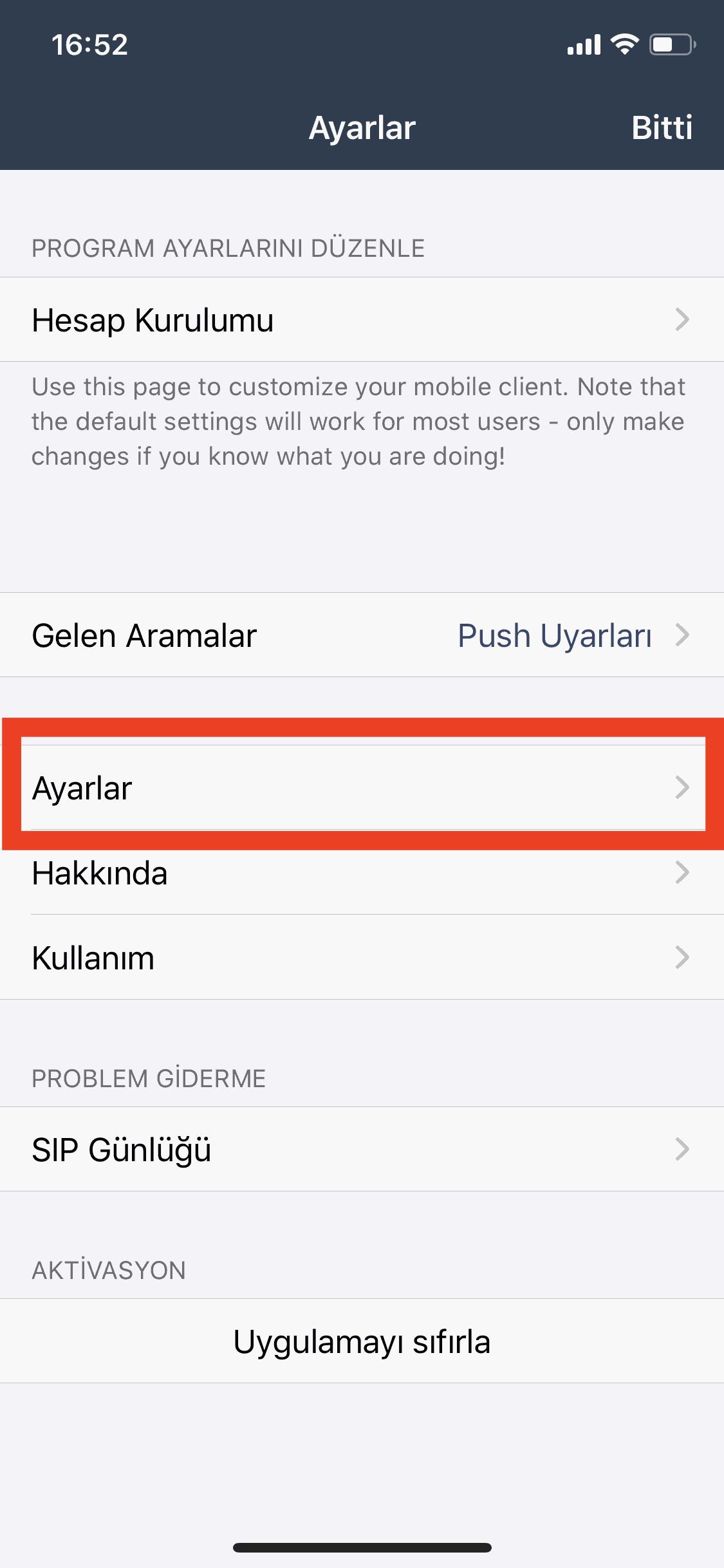 Bulutfon iOS uygulaması için numara düzeltme özelliği 2